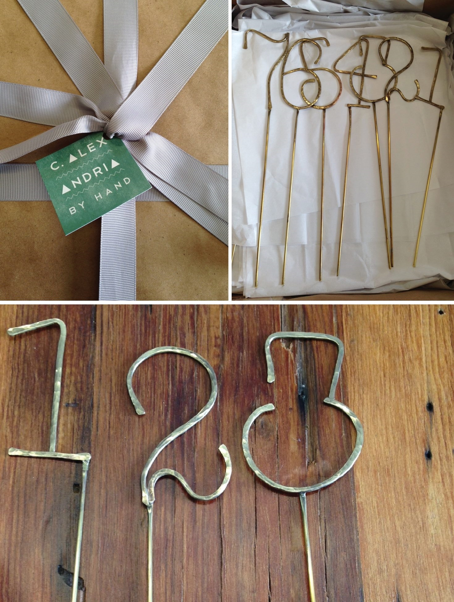 A La Crate - brass table numbers.jpg