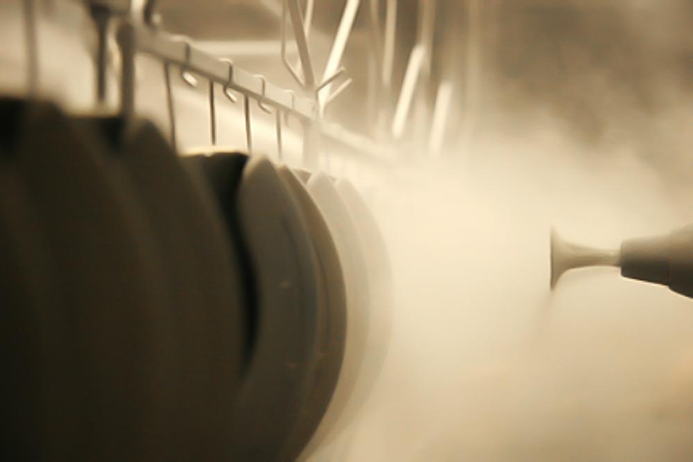 Powder coat hook line running 20 fpm.