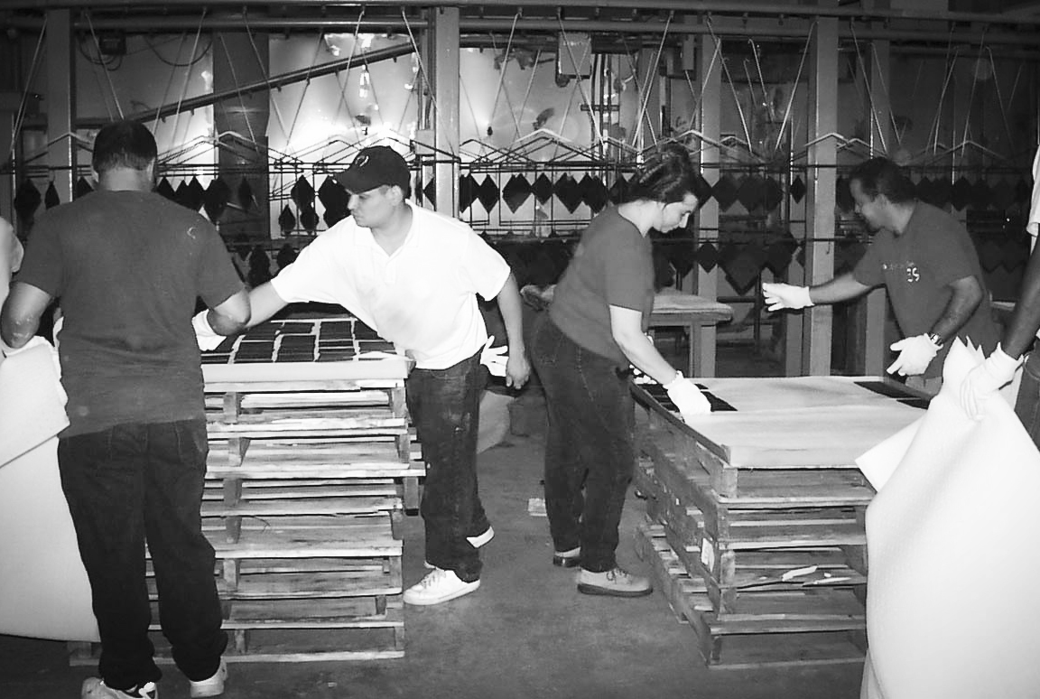 Packing up thousands of parts per hour