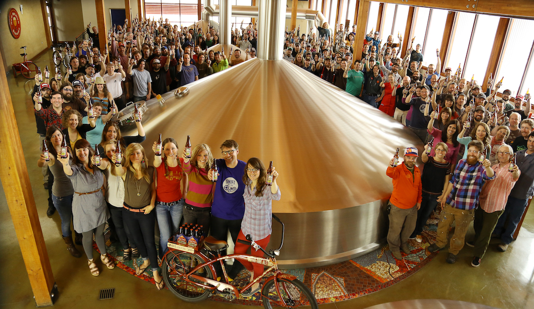 the worker-owners of the new belgium brewery