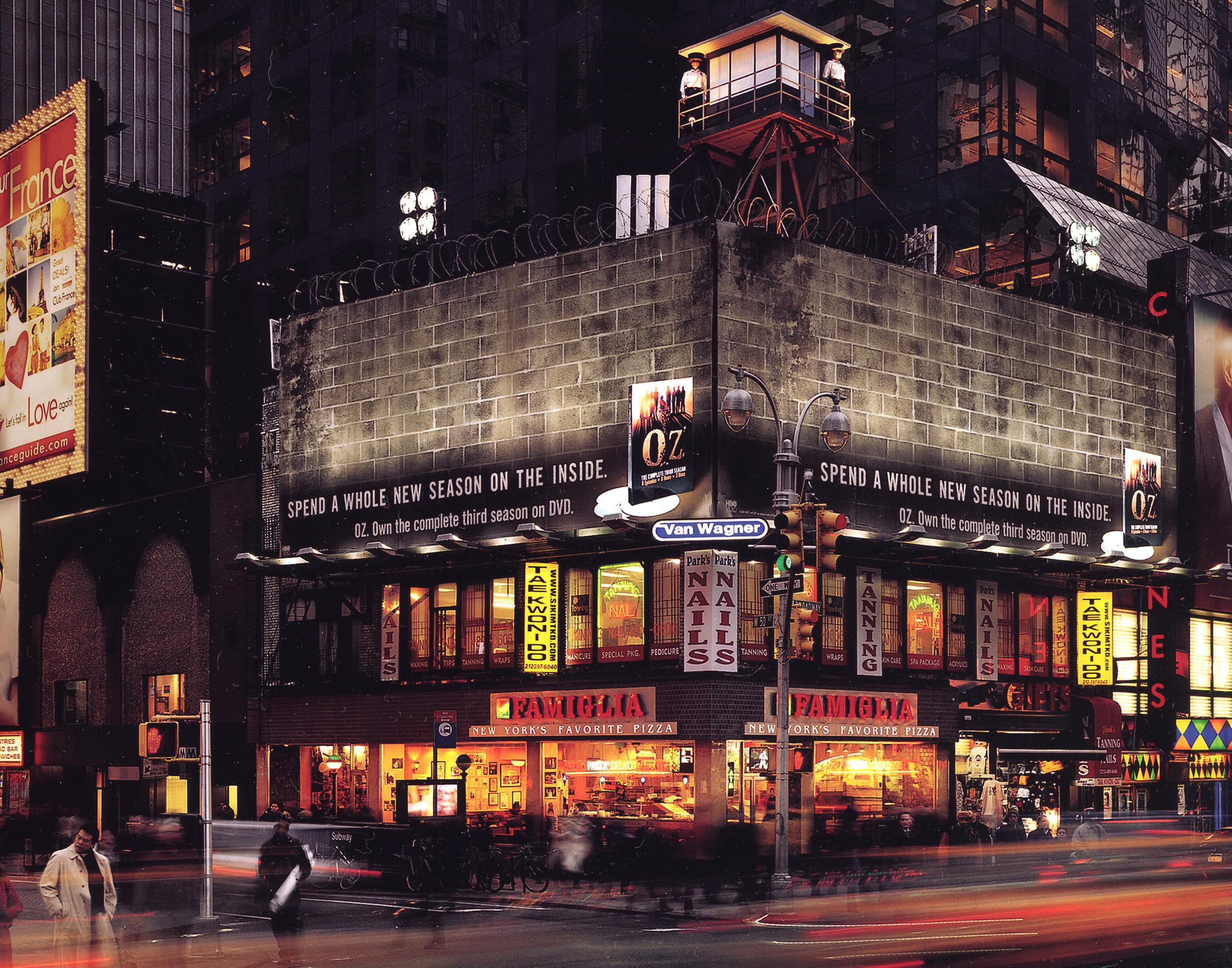 HBO: OZ DVD Times Square Billboard