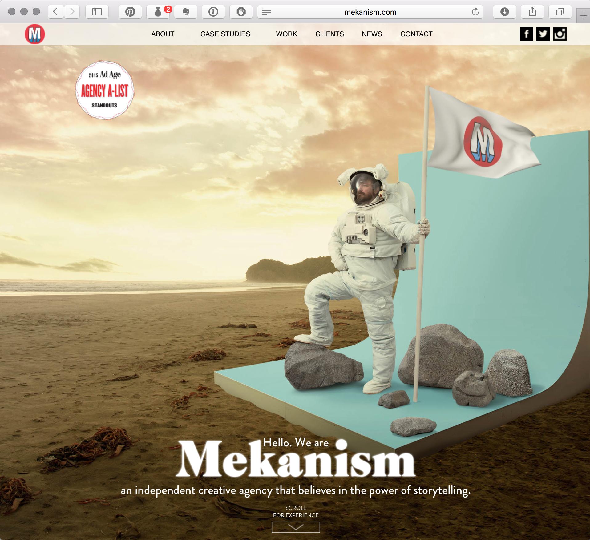 Mekanism: Parallax Site