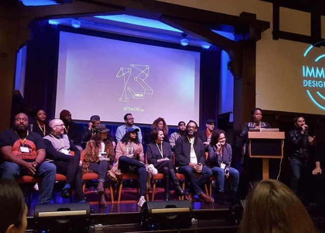 Immersive Design Summit  - Had the honor of attending the Immersive Design Summit and speaking on a panel with 13exp(thank you Mikhael Tara Garver) with some of my favorite people and mentors; extraordinary talents in storytelling, immersive experiences, social change, technology and theatre. Panelist and Attendee