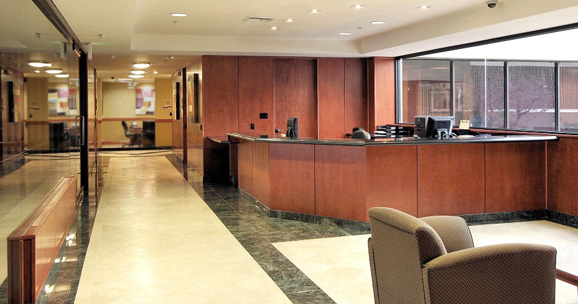 Image of desert adr's reception area. Desert adr. judge taylor.