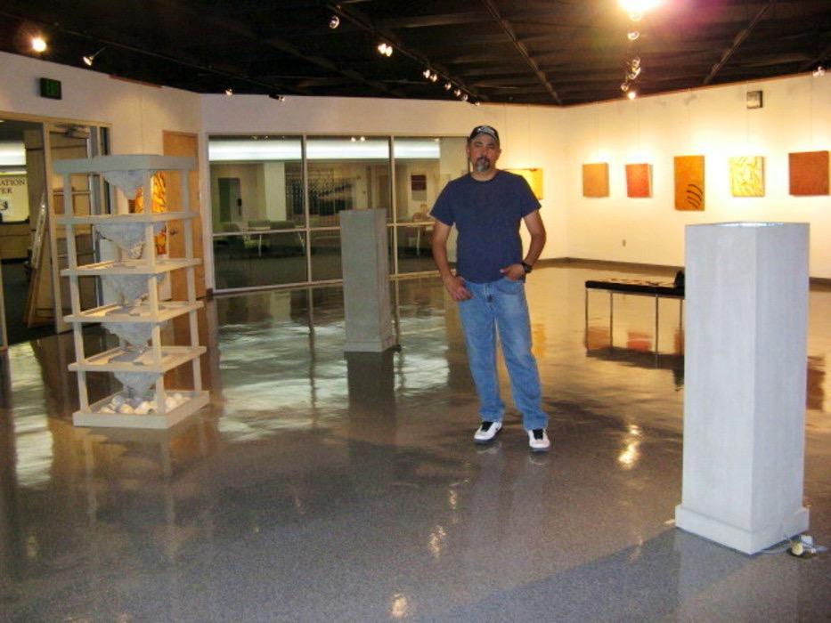 Artist and Installation, 2008