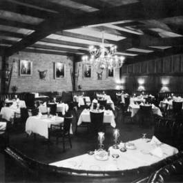 The former Beef Eaters restaurant, 1950
