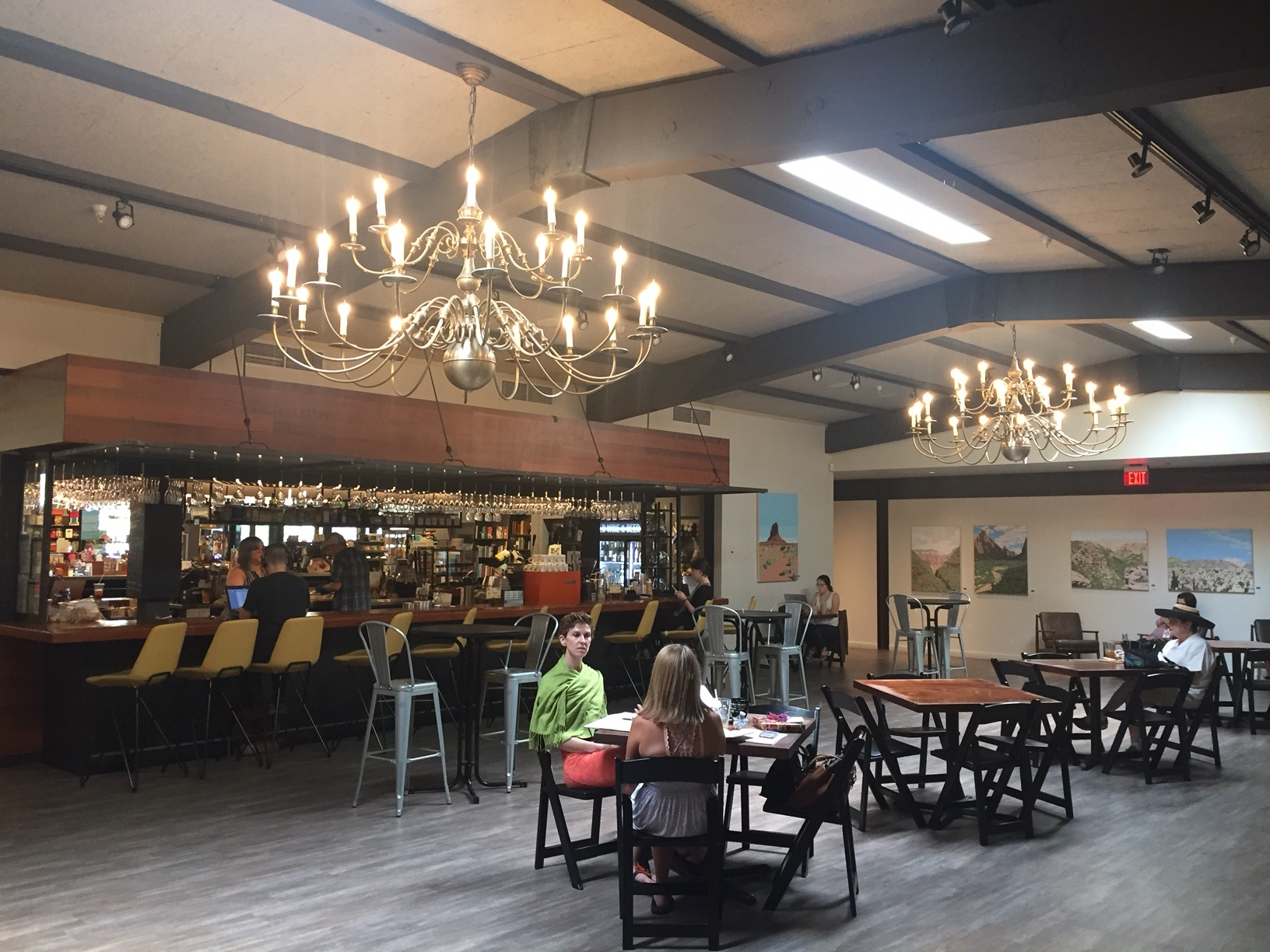 The Commons can host up to 180 guests for a mixer event.