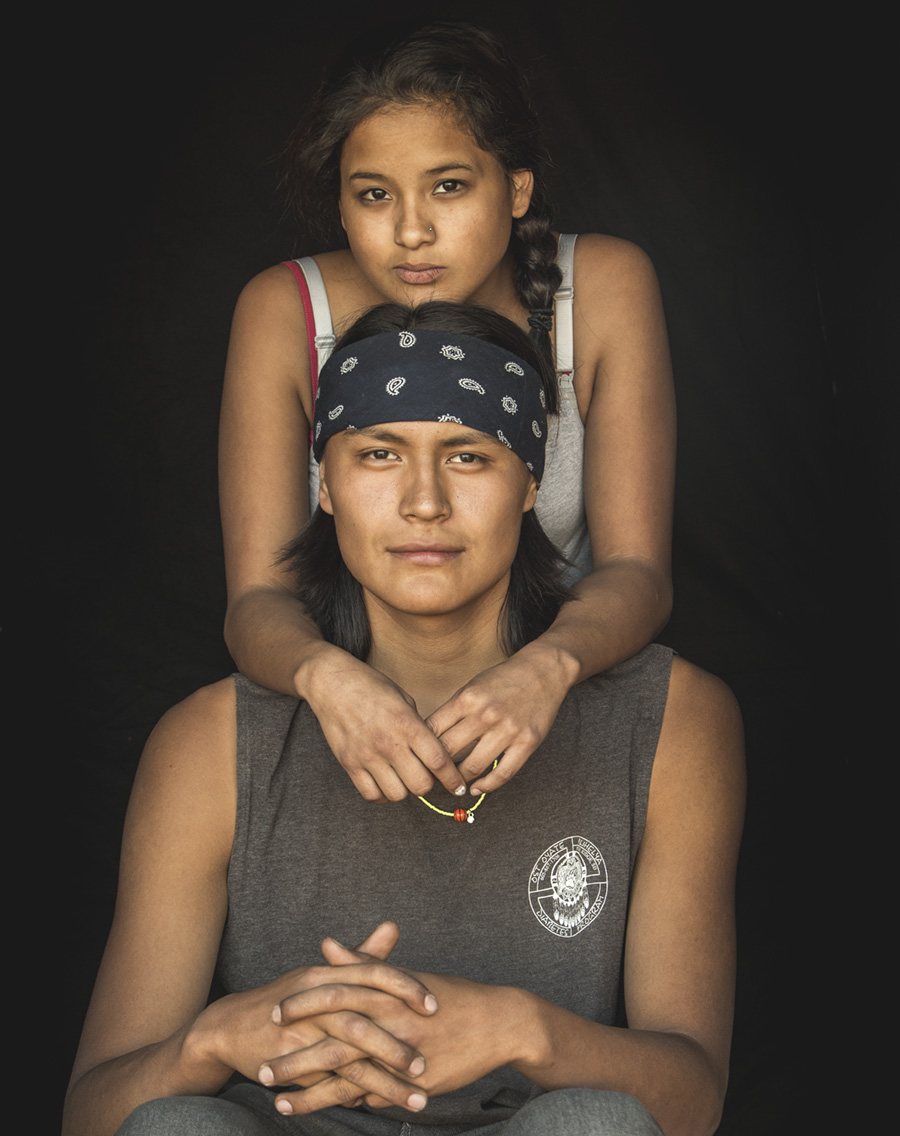 PortaitVan: Native Couple