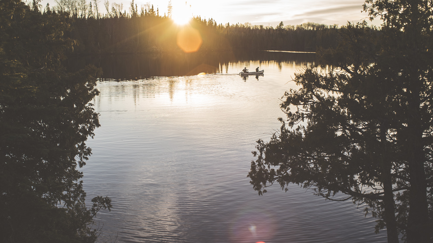 Client : GearJunkie.com///  Location: Boundary Waters Canoe Area (BWCA)