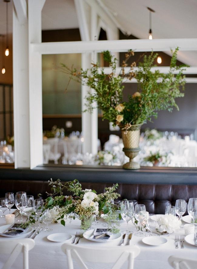 Wedding reception in the presidio at the Presidio Social Club