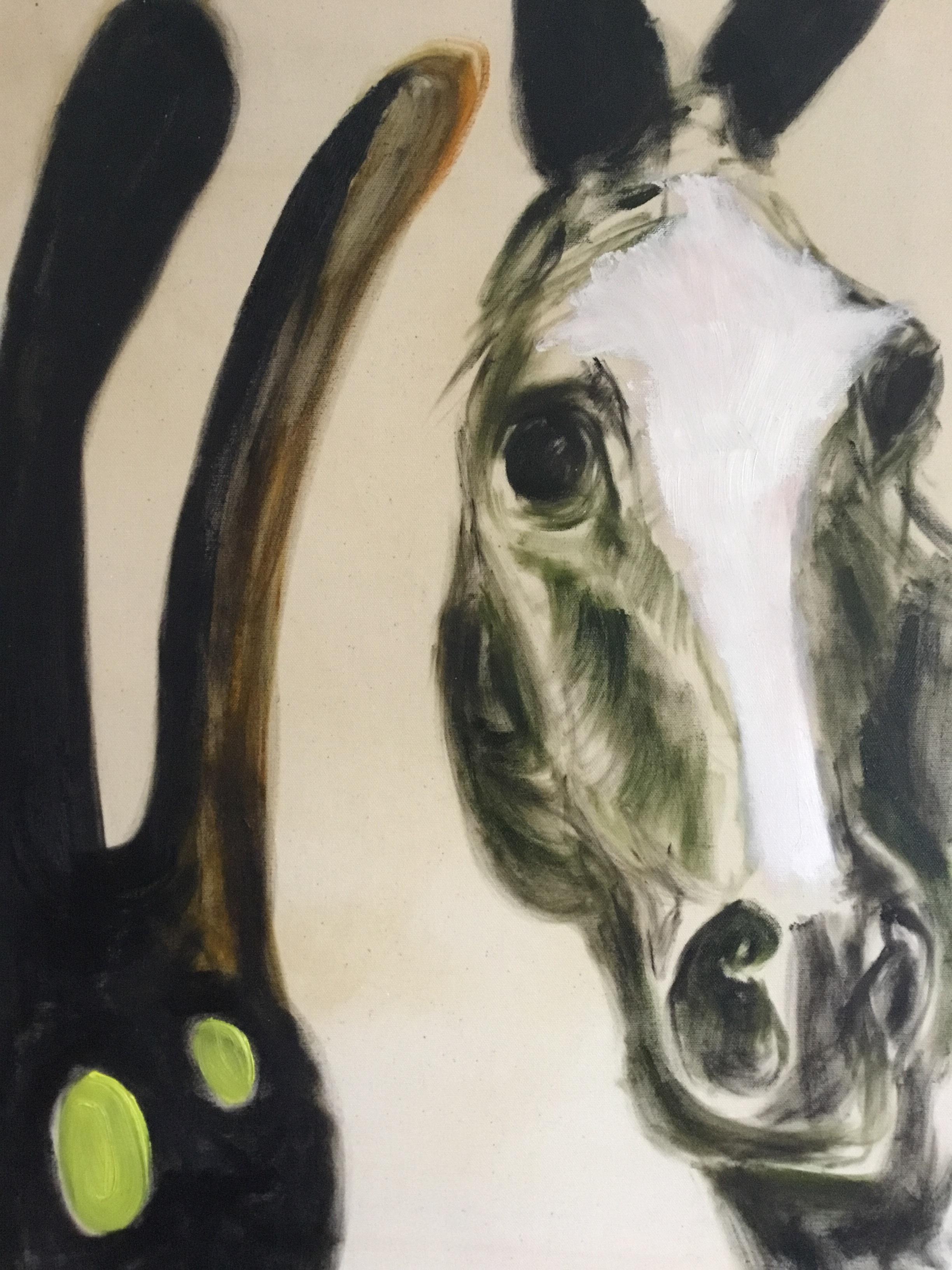catherine jauslin.horse and spirit.painting