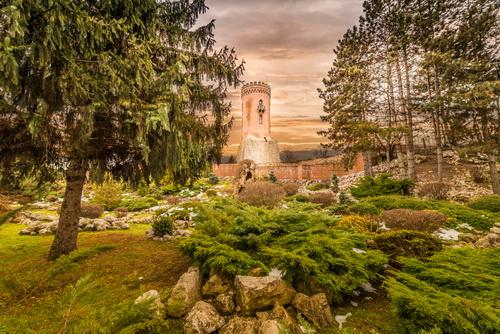 Turnul Chindiei la asfințit
