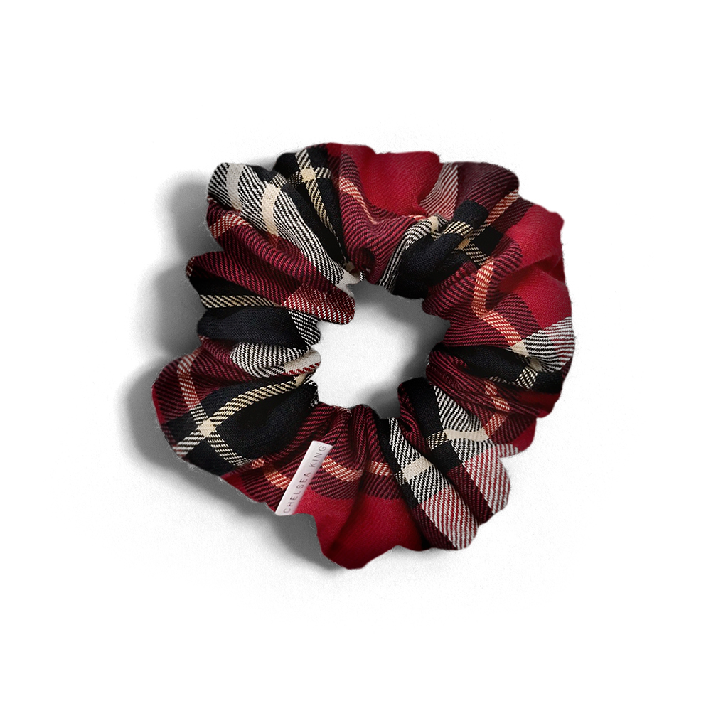 Holiday scrunchies - CHELSEA KINGVancouver, BCScrunchies are making a comeback in a big way. Explore this festive collection to find the perfect accessory for any holiday outfit.