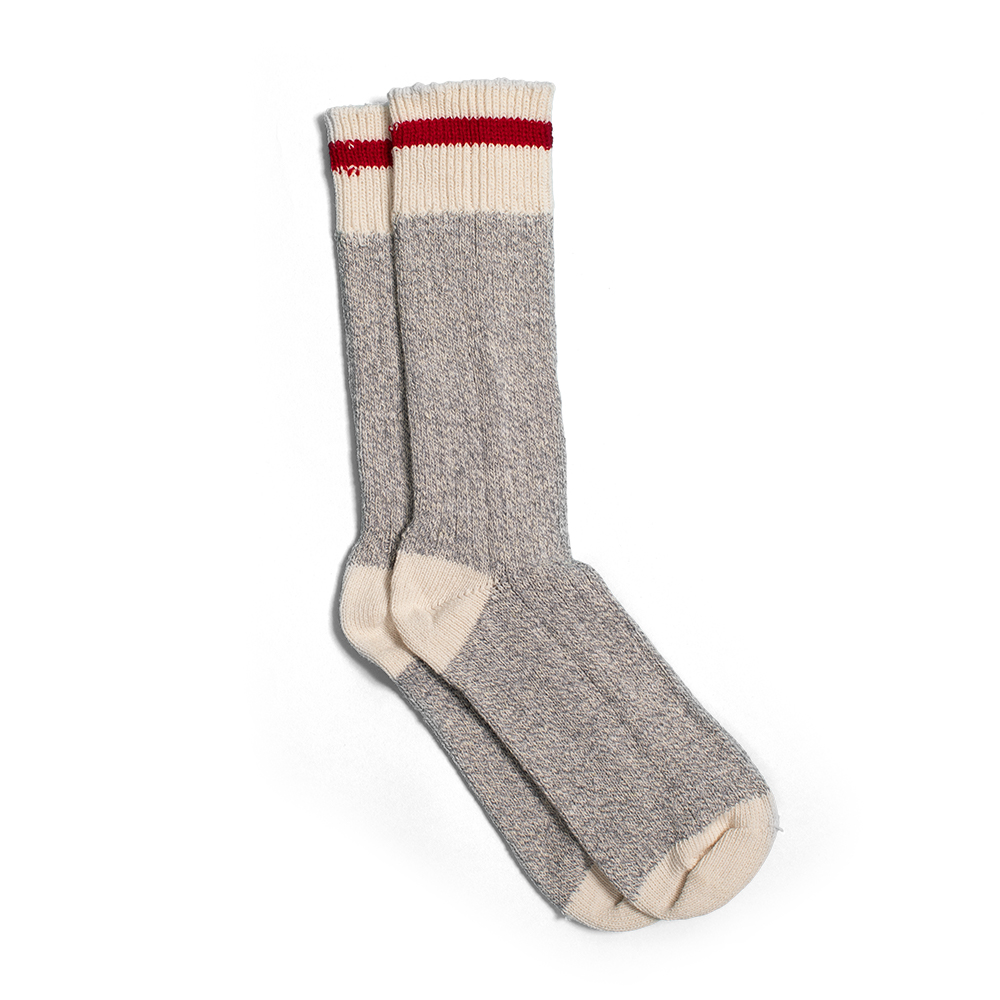 Camp socks - NORTH STANDARD TRADING POST Toronto, ONYou can't say cottage country or après ski without thinking of your favourite pair of camp socks. North Standard brought back this outdoor accessory staple to make sure you're warm and cozy from head to toe.