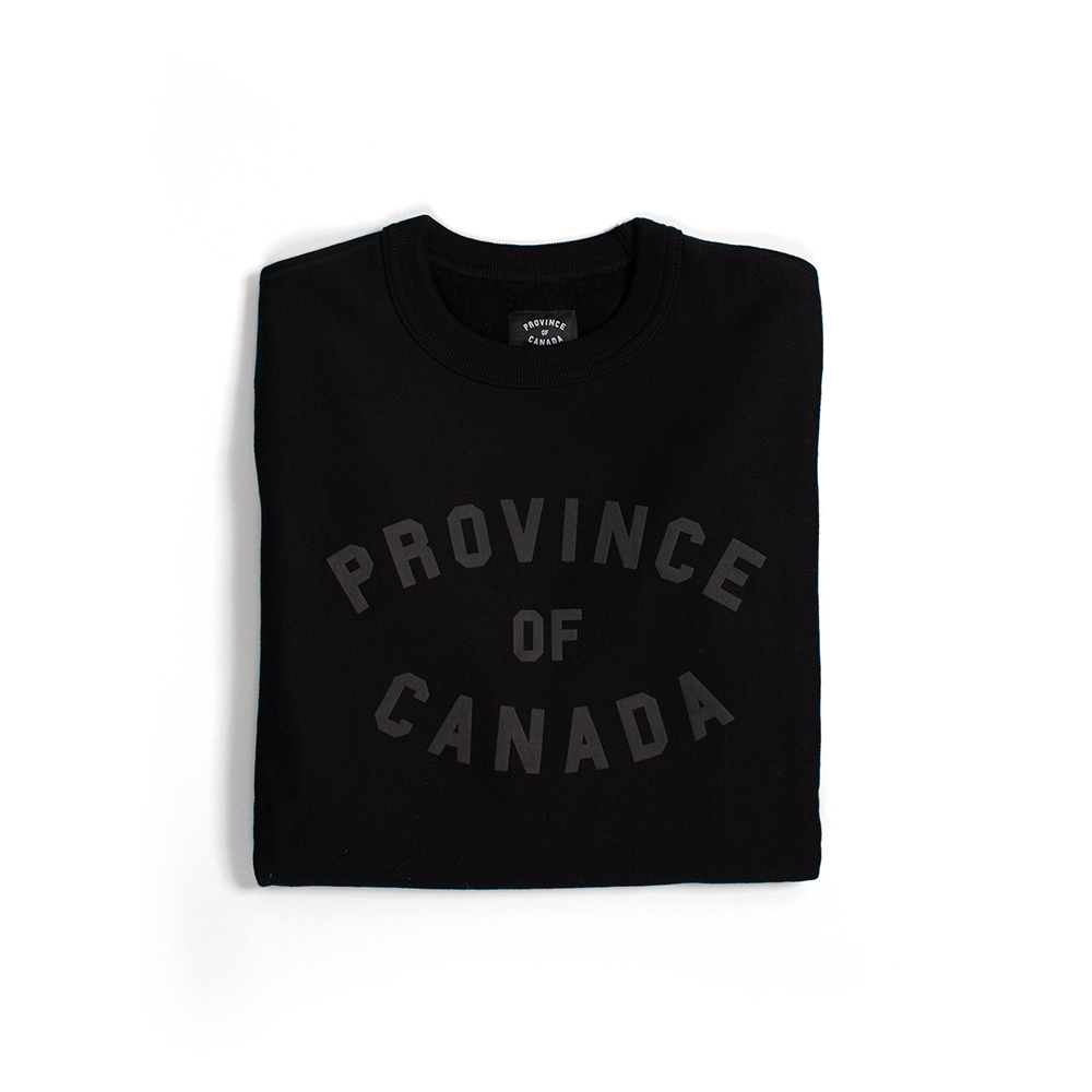 Crewneck sweater - PROVINCE OF CANADAMontreal, QCIf any of these gifts weren't enough to show some Canadian pride, then why not wear it on your chest? Pick up one of these comfy wardrobe staples today, because it's bound to be your next favourite crew.