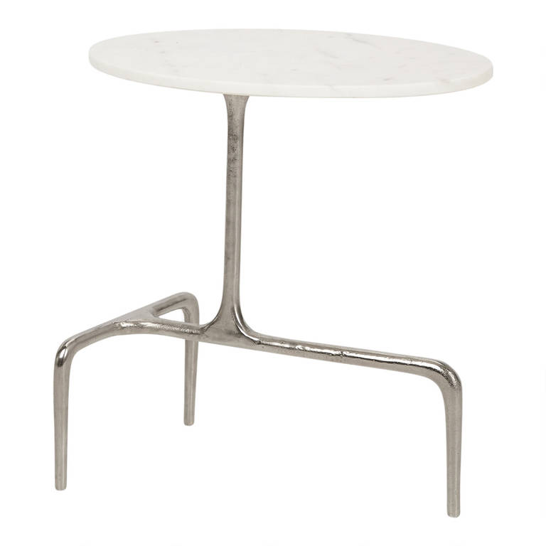 Jupiter Accent Table - Is keeping things minimal and clean your style? This slim accent table's chic look will keep your space – wherever you place it – airy and open.