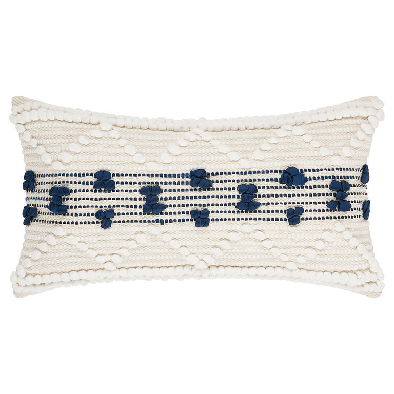 Montoya Toss - Sometimes all it takes is a unique pillow to give your space that extra oomph. The Montoya Toss is just the pillow for the job with its wider shape and textured design to amp up your bedroom.