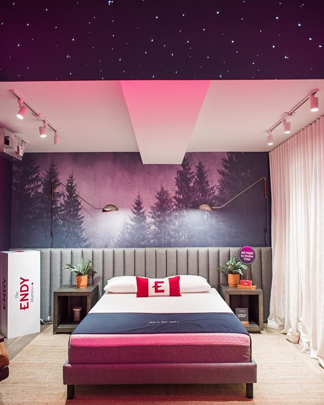 Toronto, stop by @stacktmarket and check out The Endy Lodge for your daily dose of vitamin Zzz. Have a quick snooze in our nap pods, we hear it's going to be a late night. #wethenorth
