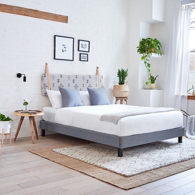 Are you ready to elevate your sleep? Introducing the Endy Bed Frame! ⠀ .⠀ Modern, strong, and easy to assemble, the Endy Bed Frame is the all-in-one fully Canadian made bed frame to take your sleep to new heights. It's designed so you can assemble it in 10 minutes or less with it's no screws or tools required set up! Take your sleep to new heights!