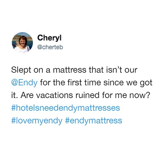 Home is where your Endy mattress is 💕