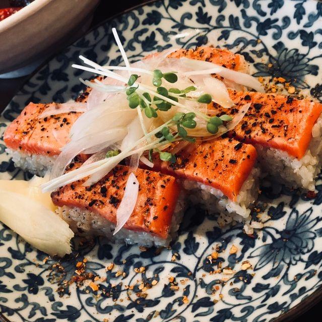 Guu Garden - Japanese food is always a good idea. Keep the sake coming!888 Nelson St.