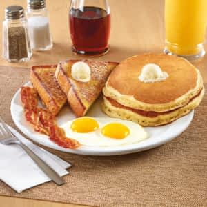 Denny's - Denny's does not disappoint. If there's one place to get good ol' comfort food - it's here.121 Dundas St. W.
