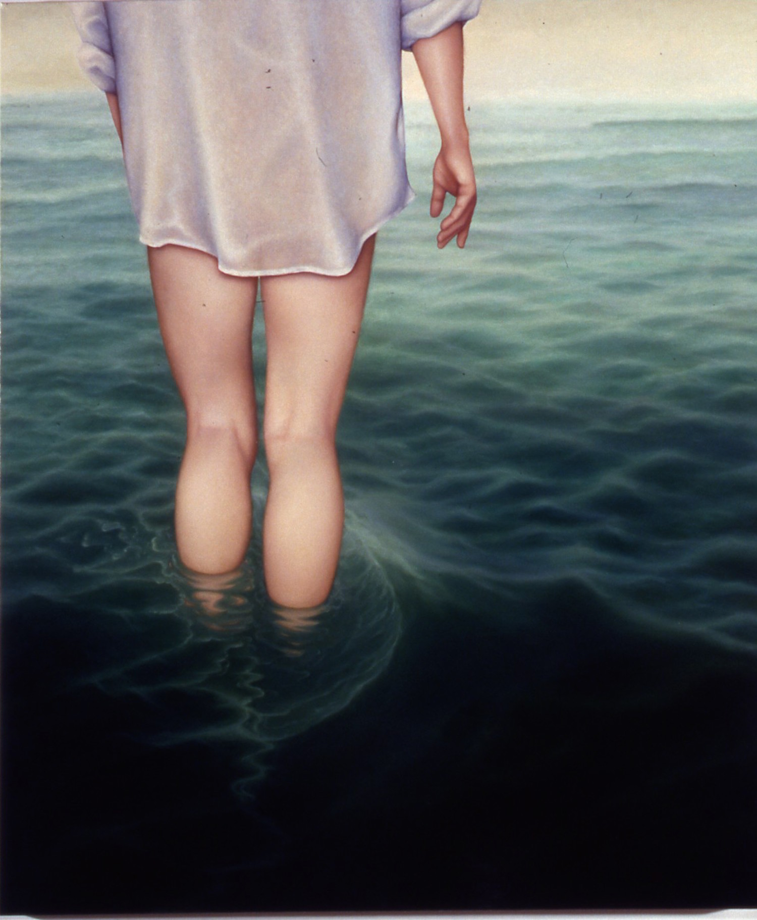 """Departure Oil on canvas 56""""x 38"""""""