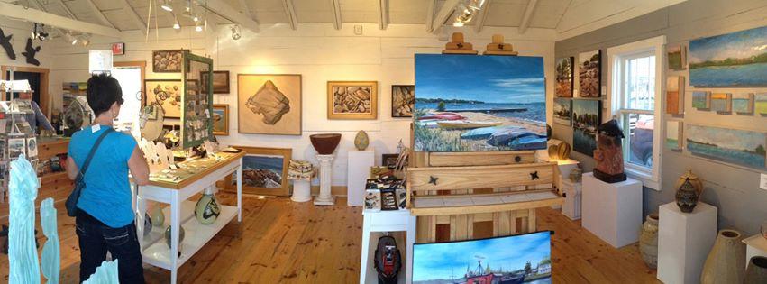 Bell Street Gallery  on Madeline Island