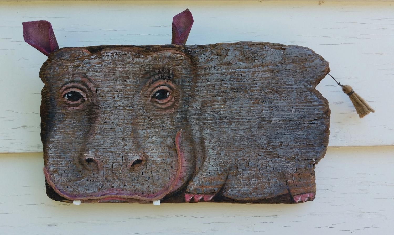 Driftwood Hippo  Jun 18 – Jul 2 2016 at Bell Street Gallery
