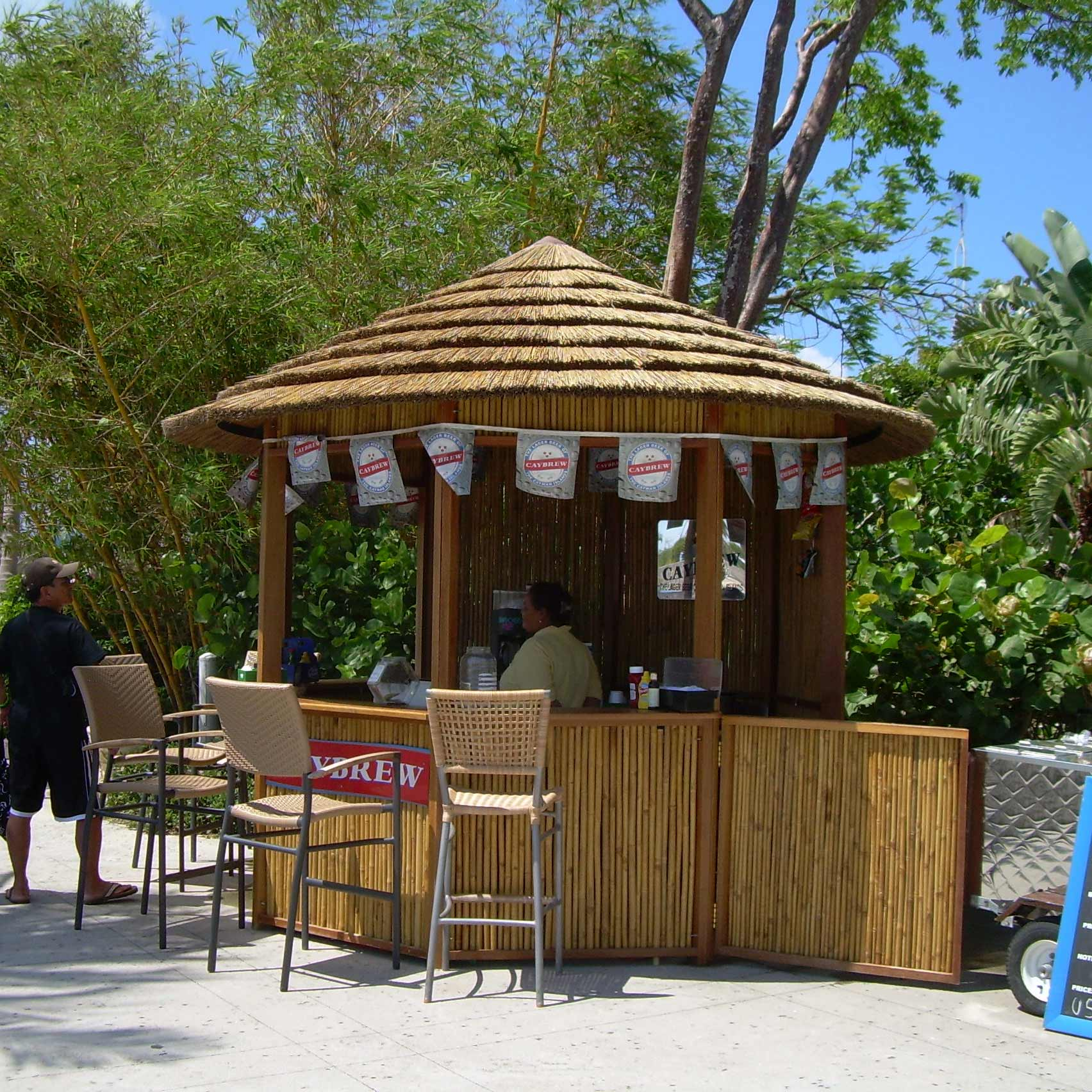 SafariThatch:CONCESSION STAND