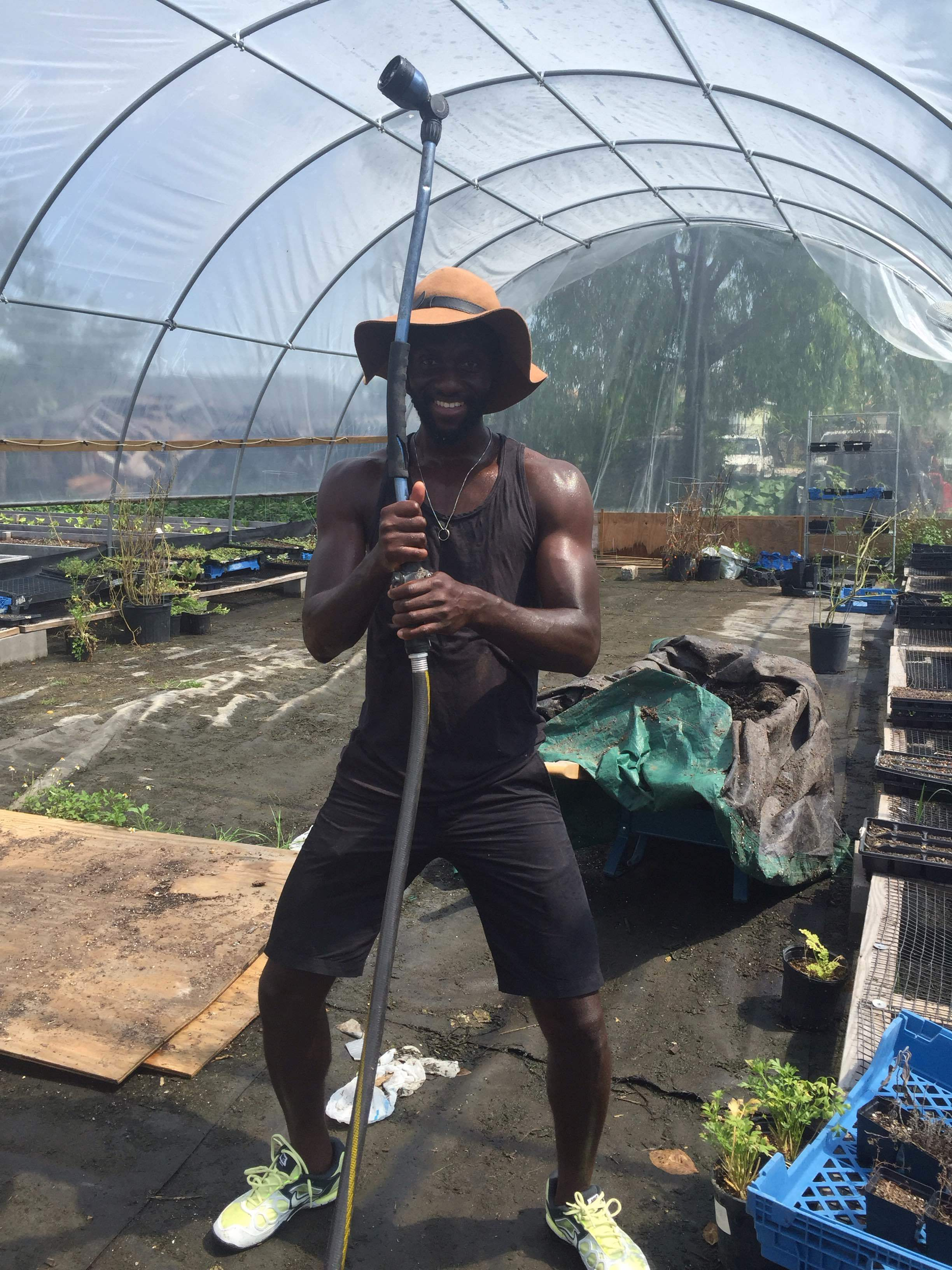 Friend of Okra Foods fighting the good fight
