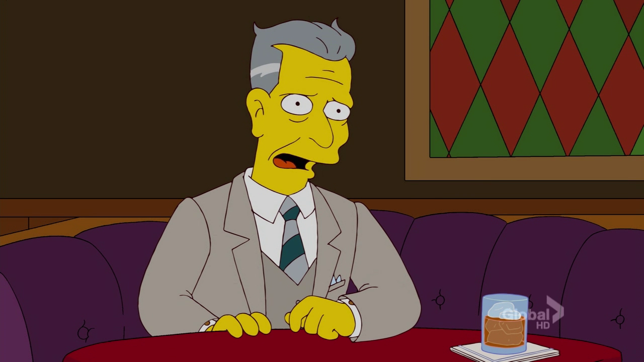 Herzog in  The Simpsons