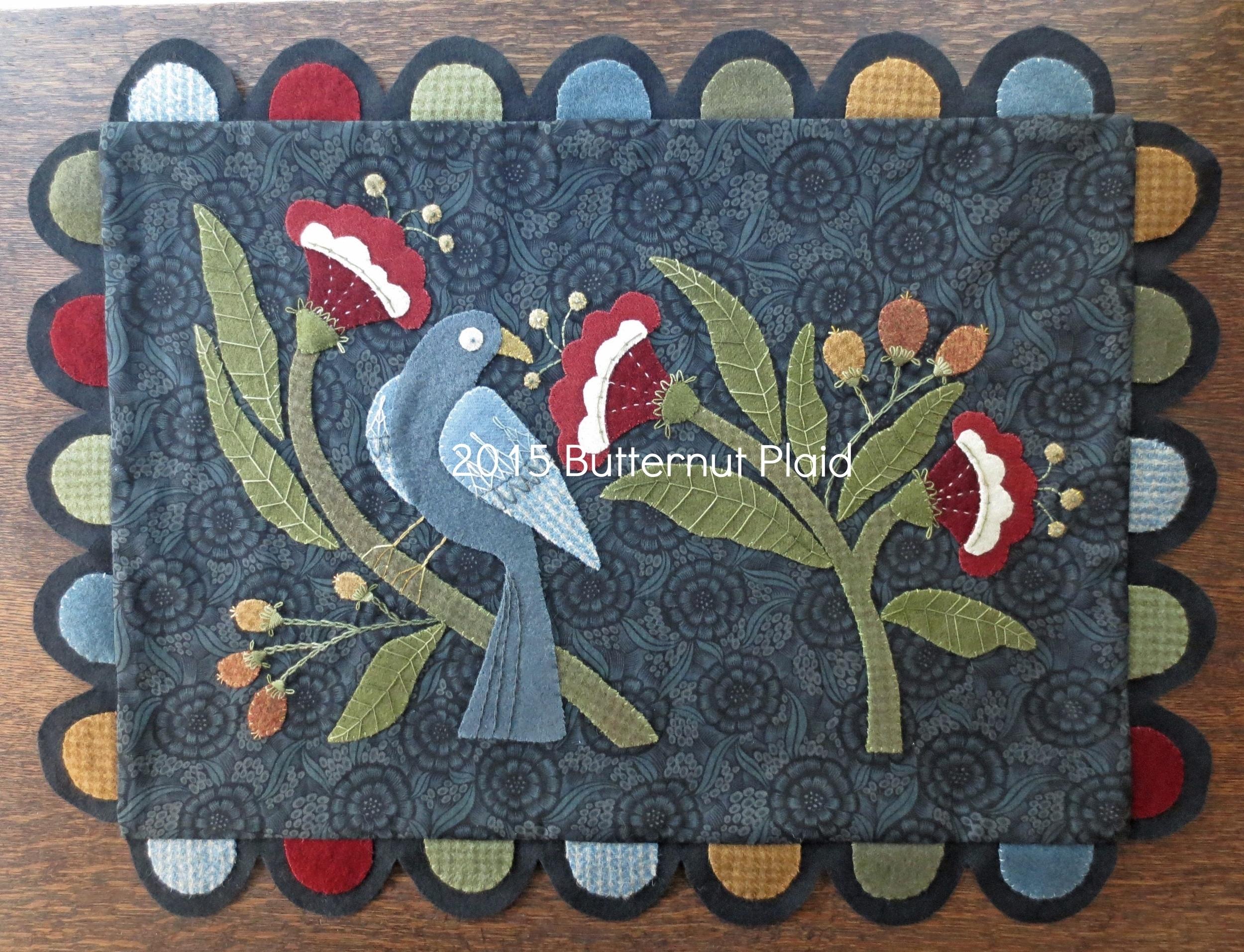 William Morris Inspired Table Rug.jpg