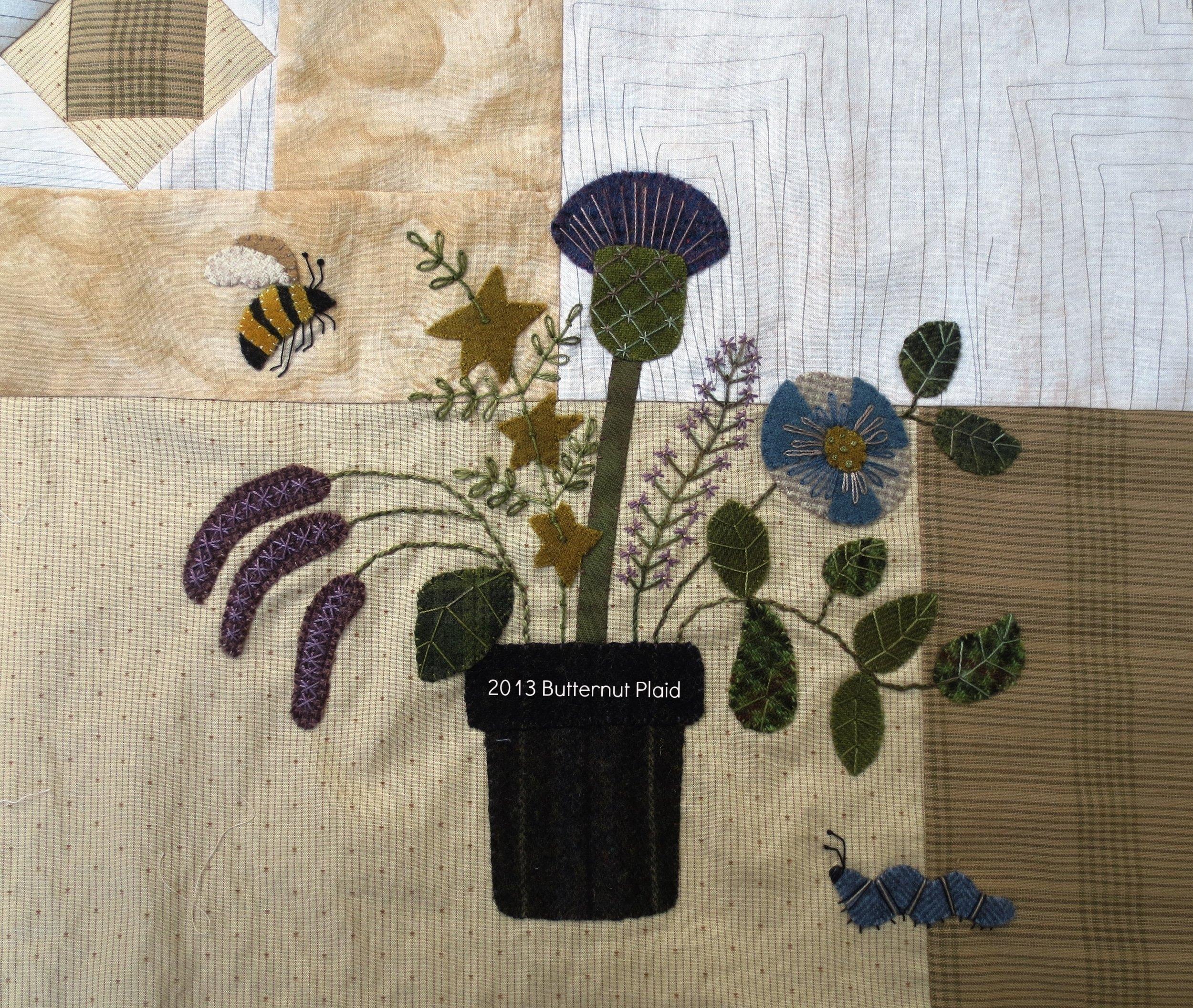 Flowers From My Garden Mystery Quilt - Block #2