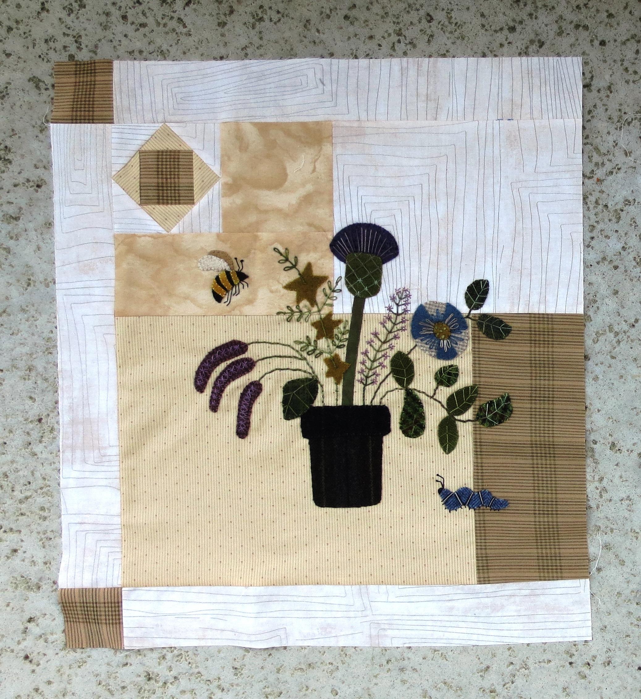 Flowers From My Garden Sashing and Corner Blocks2.jpg