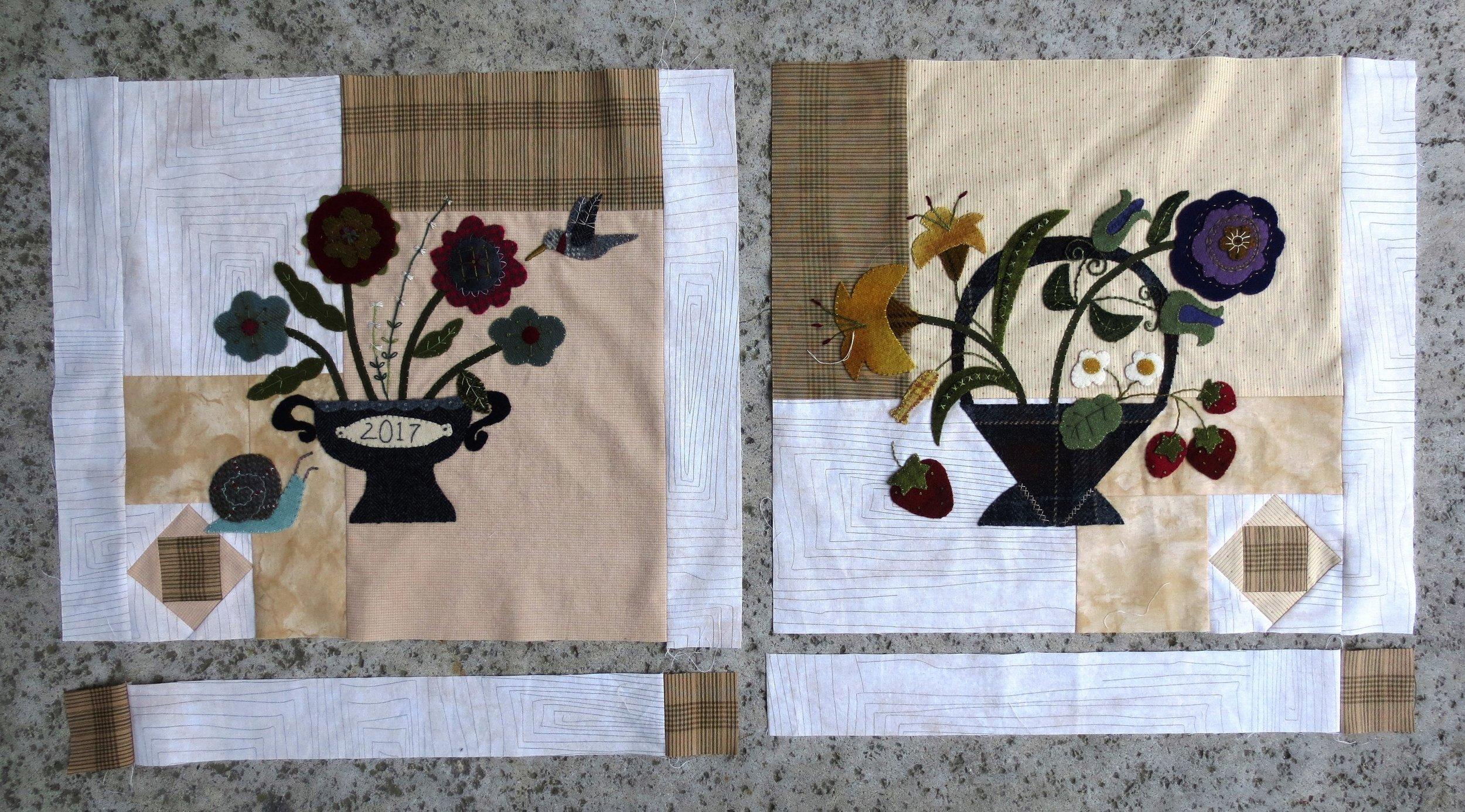 Flowers From My Garden Sashing and Corner Blocks5.jpg