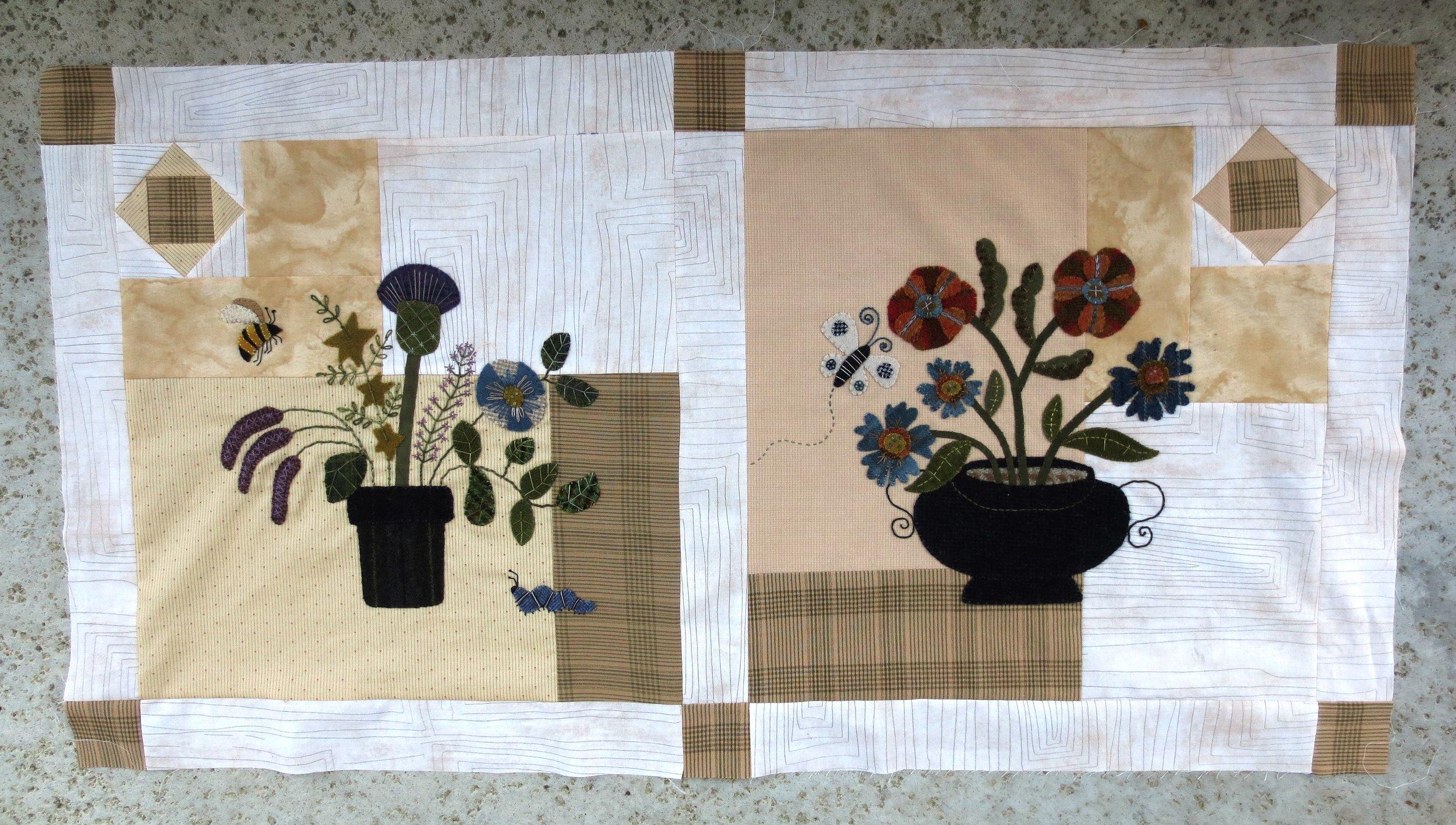 Flowers From My Garden Sashing and Corner Blocks4.jpg
