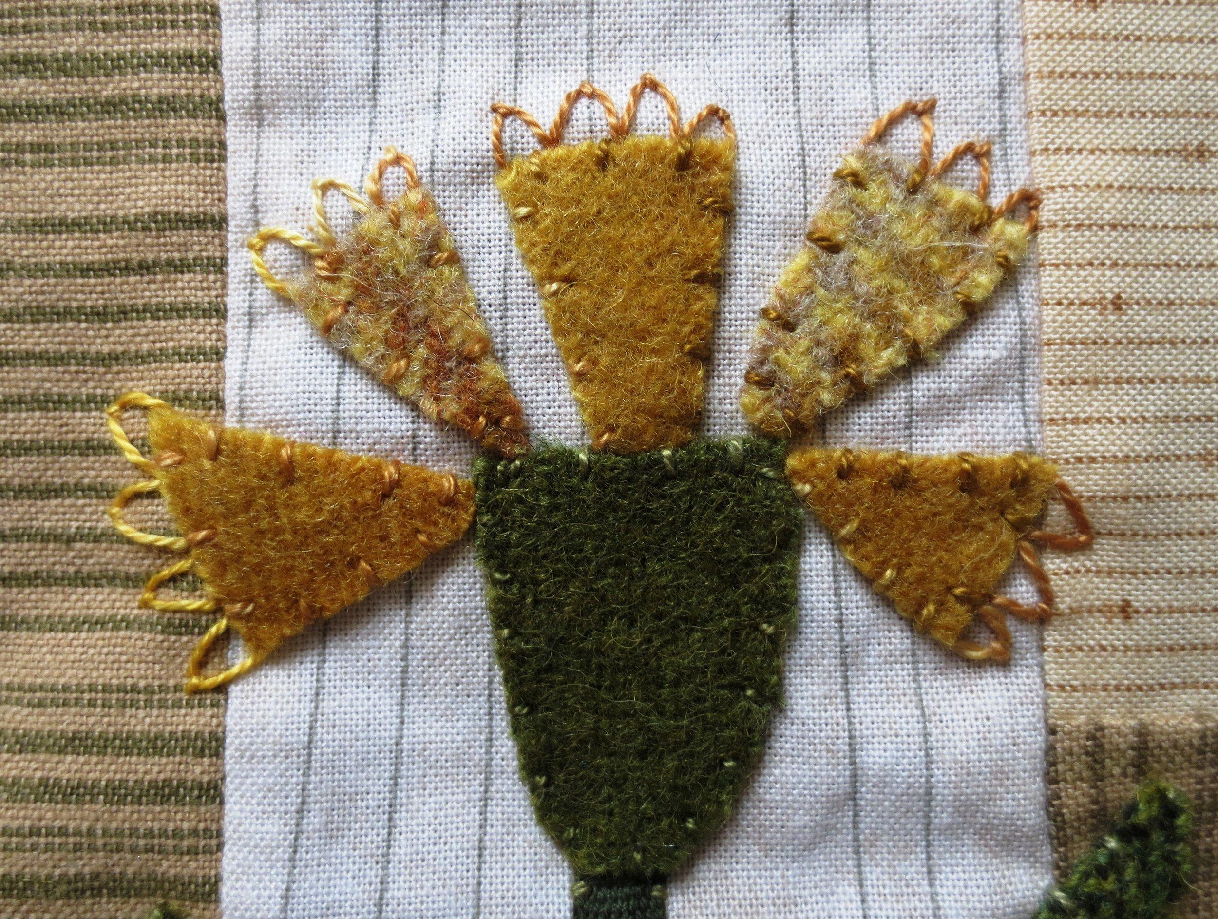 Flowers From My Garden Center Applique fly stitch.jpg