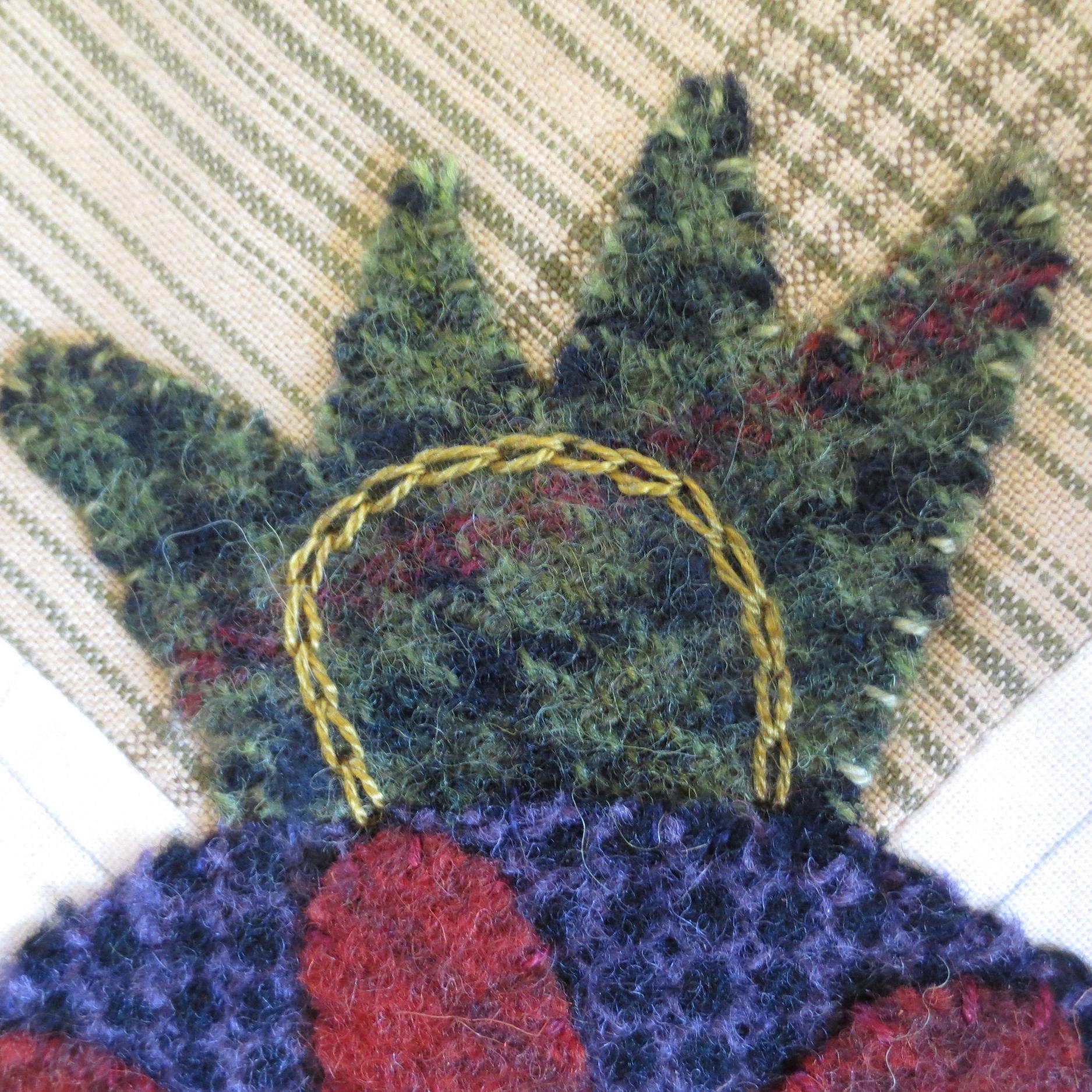 Flowers From My Garden Center Applique chain stitch6.jpg
