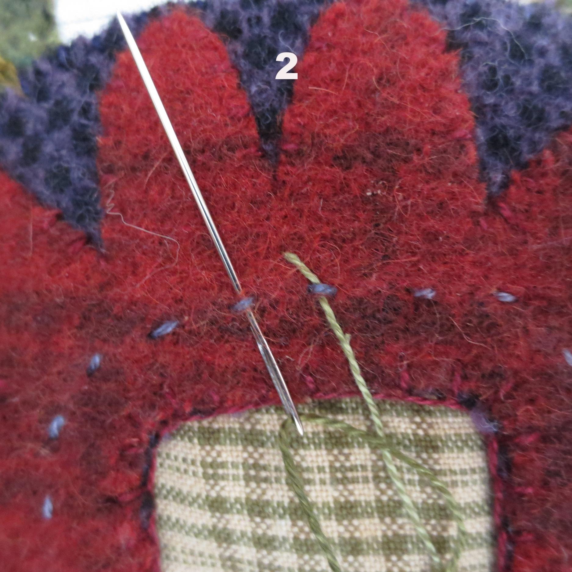 Flowers From My Garden Center Applique eskimo edged stitch4.jpg