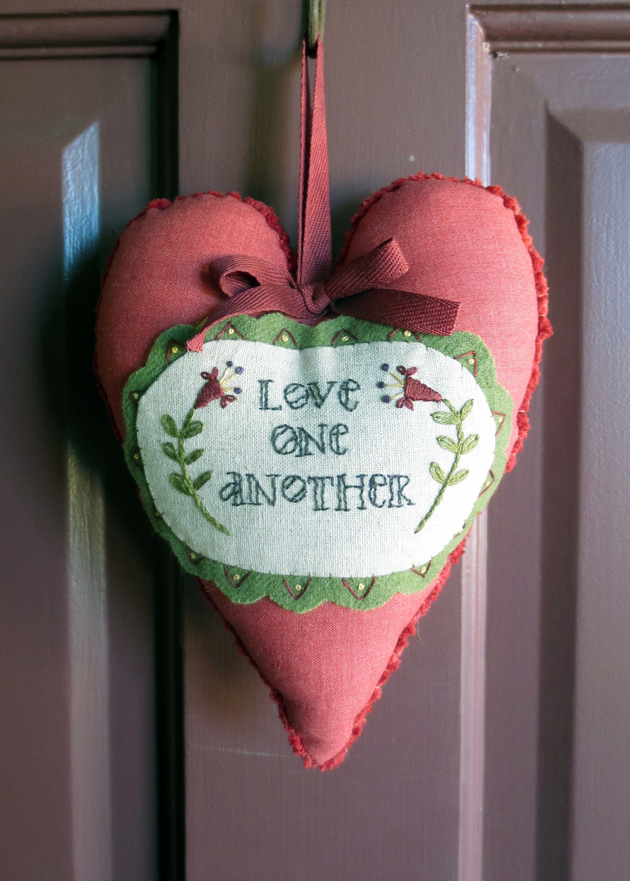 Love One Another Heart by Butternut Plaid