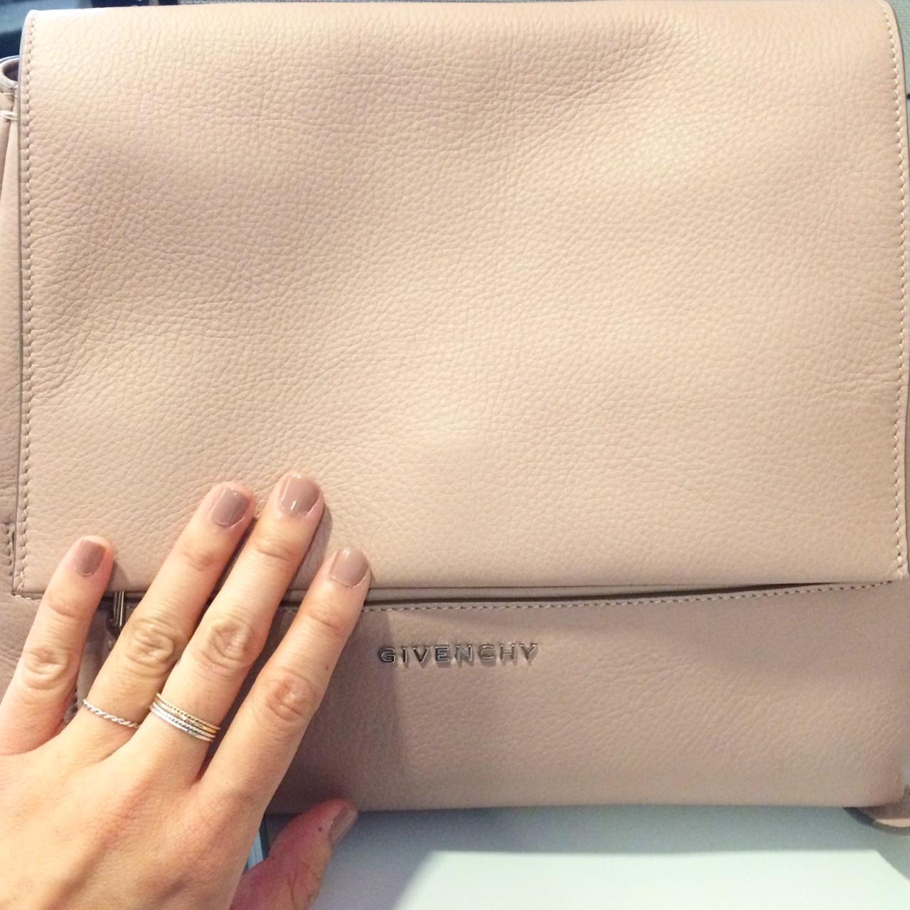 Givenchy Pandora Pure Small Flap Shoulder Bag  with  Sephora Formula X Nail Polish in Evocative