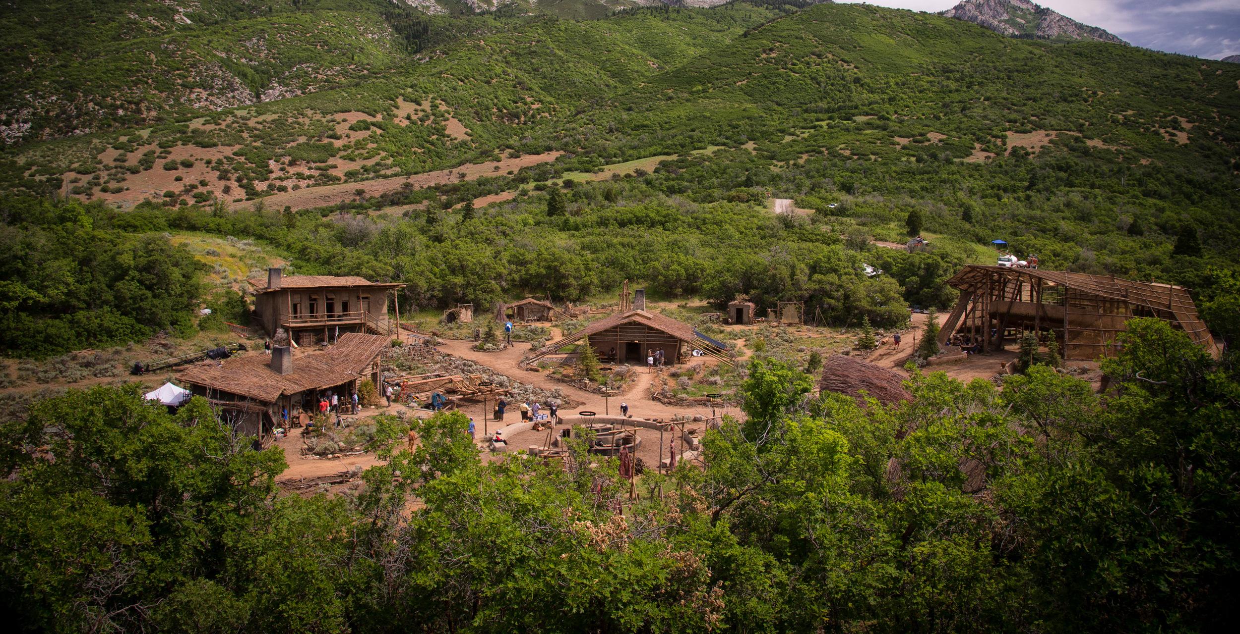 The set of post apocalyptic Galyntine in Utah