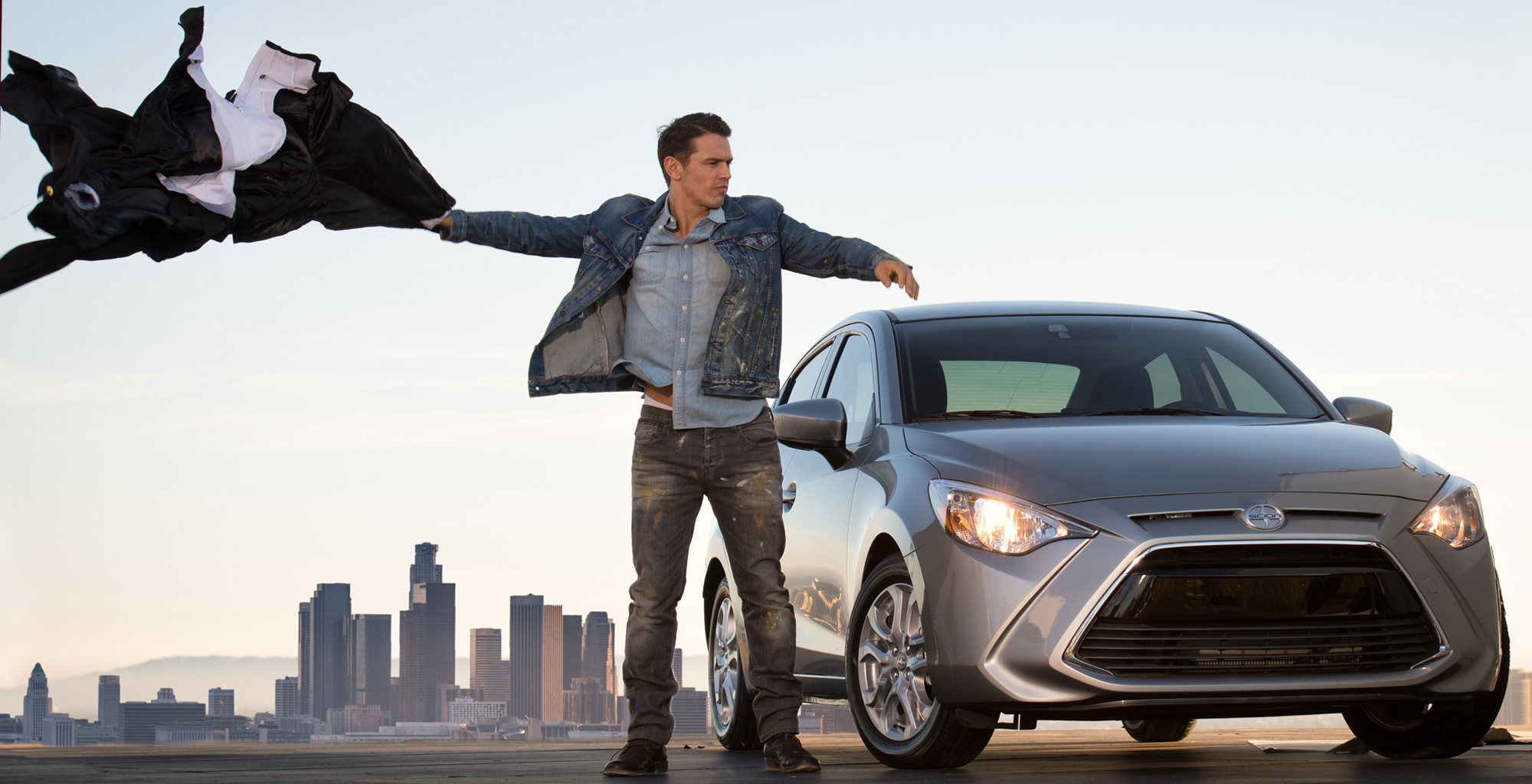 James Franco in a commercial for Scion IA/IM