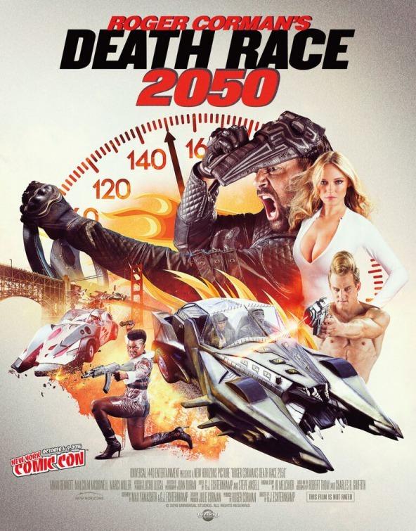 Death Race 2050 / Roger Corman, Universal 1440    Feature Film shot in Lima, Peru.