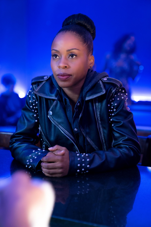 Danielle Moné Truitt in BET's Rebel