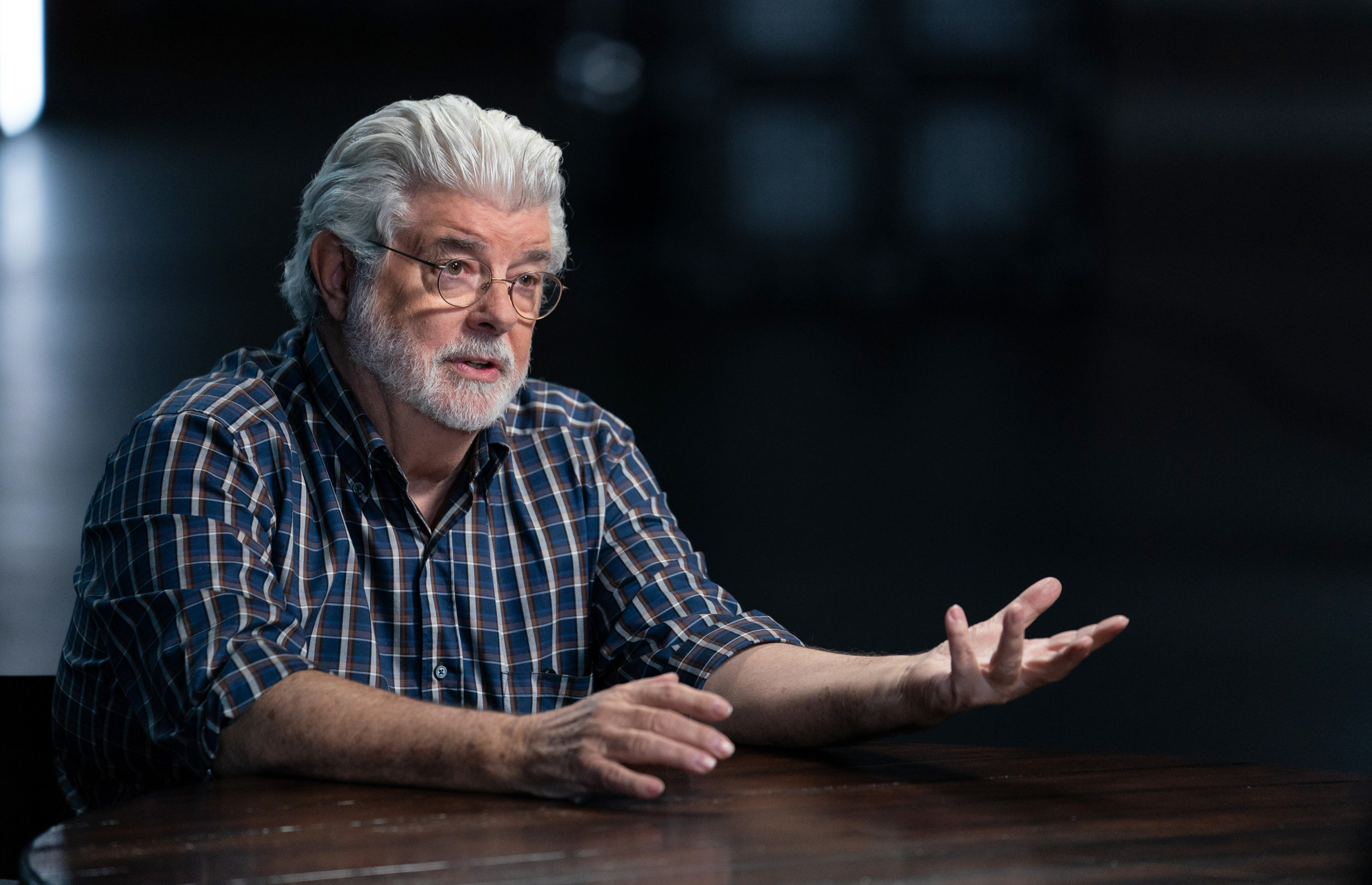 George Lucas for The Story of Science Fiction