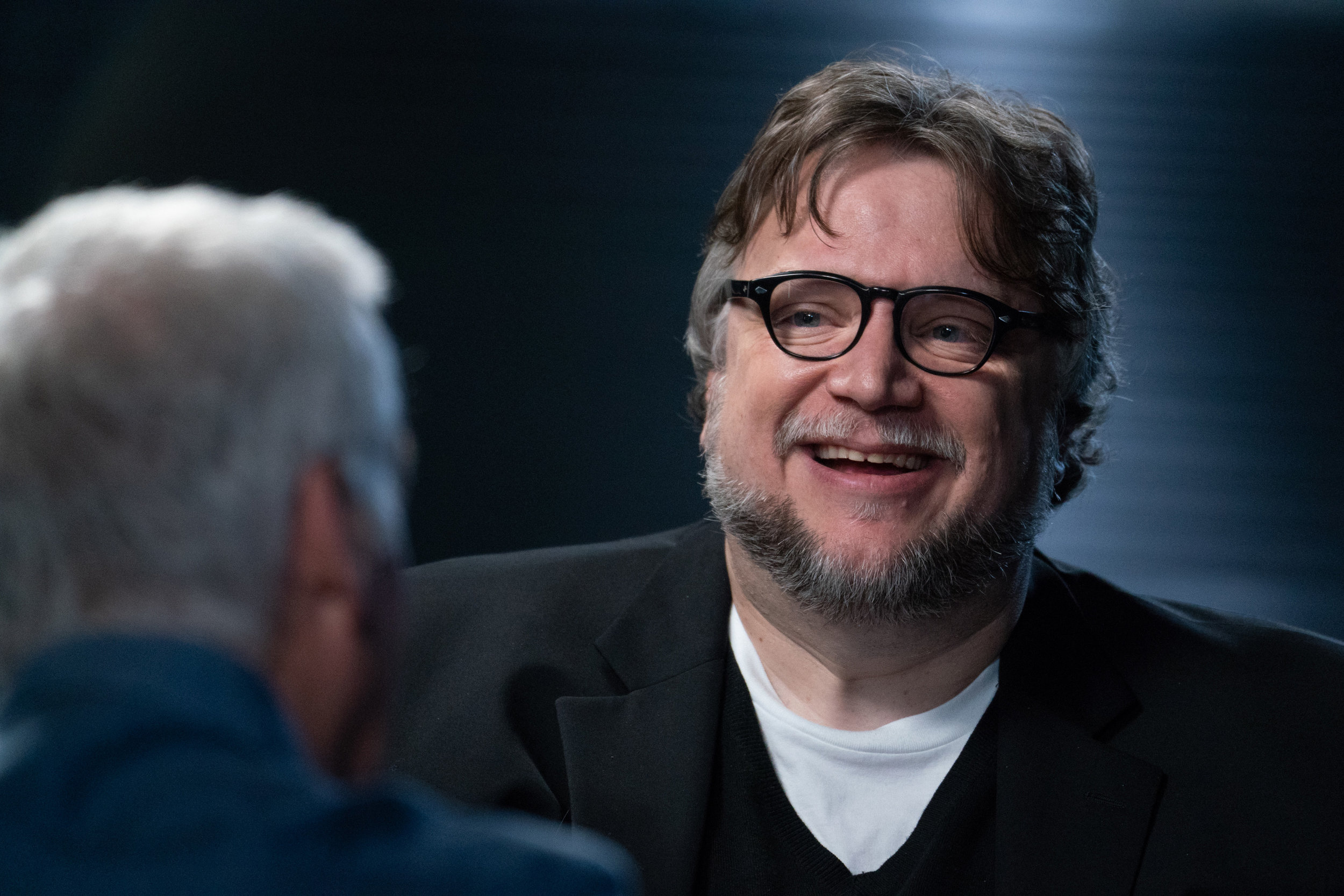 Guillermo del Toro and James Cameron for The Story of Science Fiction