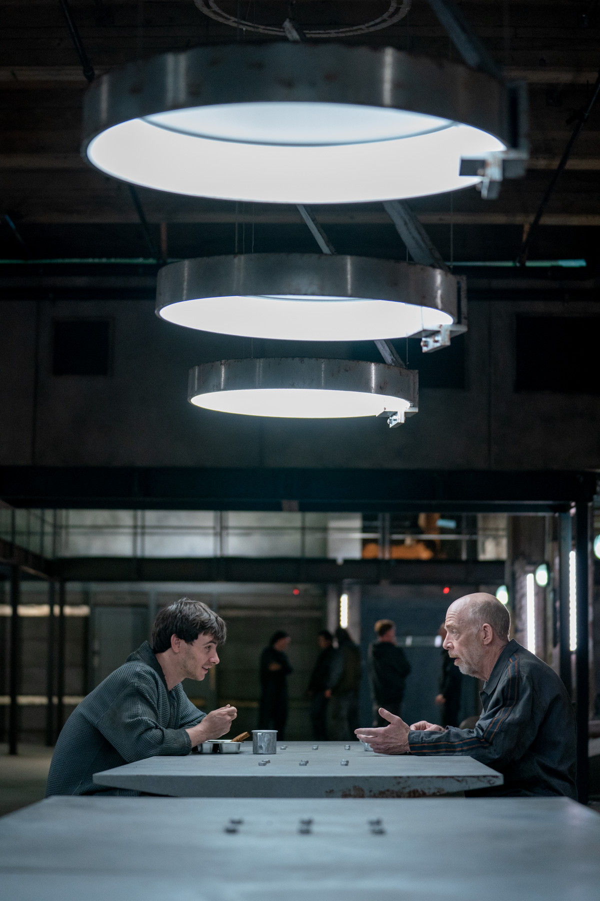 J.K. Simmons and Harry Lloyed in Counterpart, Season 2.