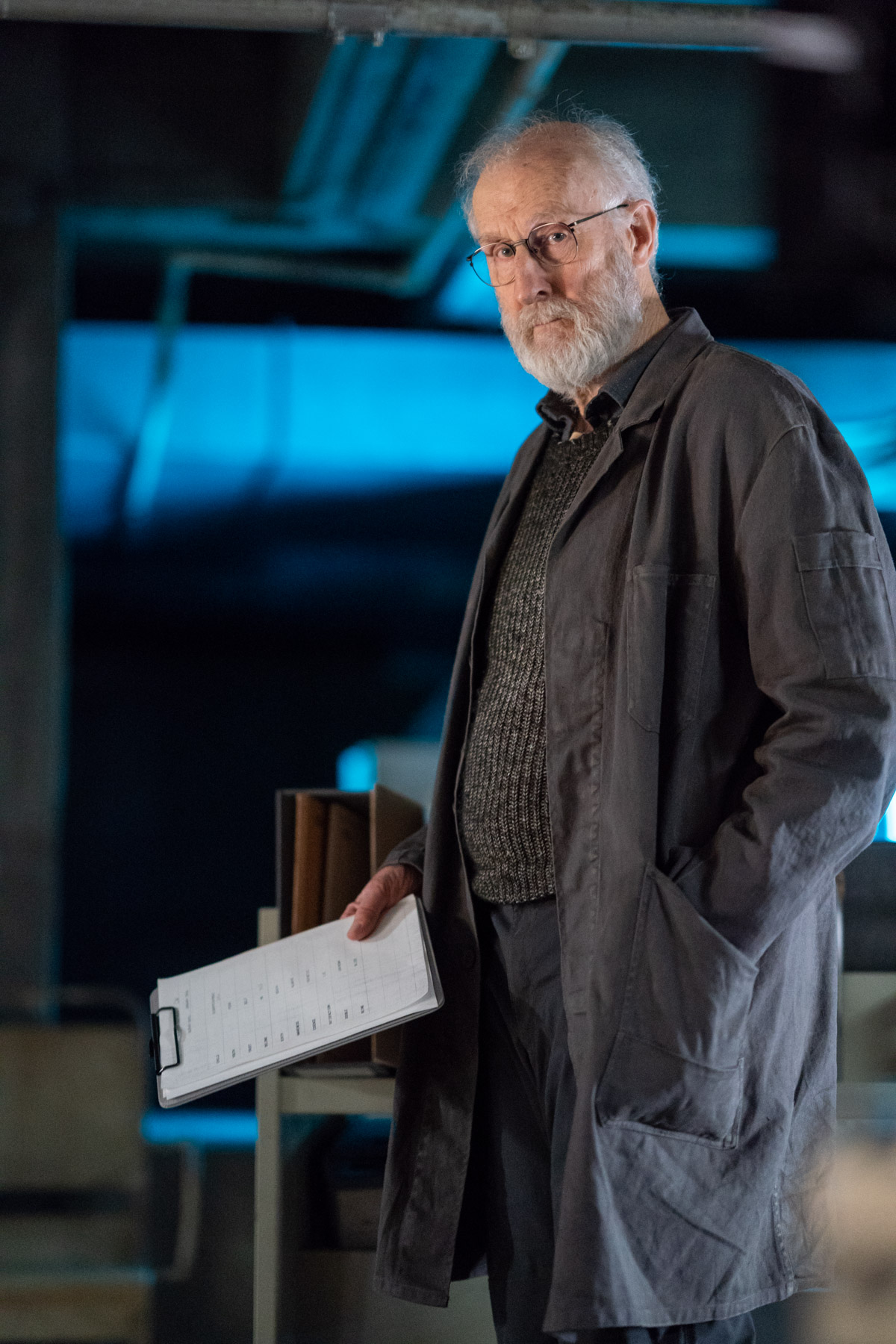 James Cromwell in Counterpart, Season 2.